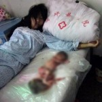 The image of forced abortion that has shaken China