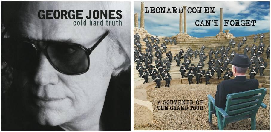 Leonard Cohen and George Jones