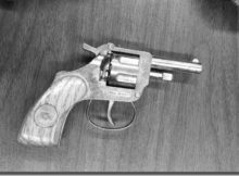 Gun at Robert F. Kennedy school