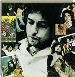 Bob Dylan Desire rear cover