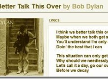 bob dylan interview