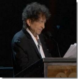 Bob Dylan Musicares Speech Reactions